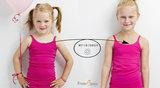Hemd met roosje KinderBasics - FUCHSIA_