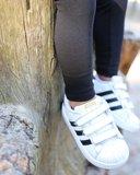 Legging lang ZWART KinderBasics_