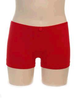 Boxershort meisje KinderBasics - ROOD