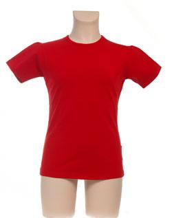 T-Shirt Meisje KinderBasics - ROOD