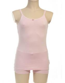 Hemd met roosje KinderBasics - ROZE