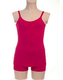 Hemd met roosje KinderBasics - FUCHSIA