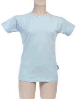 T-Shirt Meisje KinderBasics - LICHTBLAUW