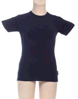 T-Shirt Meisje KinderBasics - DONKER BLAUW NAVY