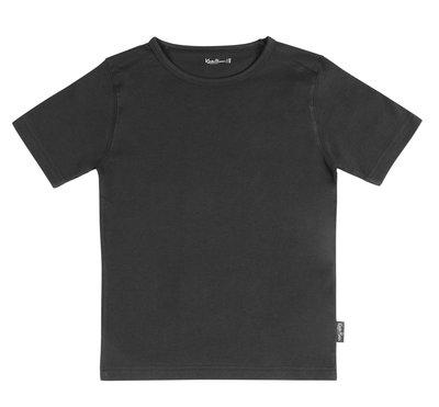 Shirt V-hals Jongen KinderBasics - ANTRACIET GRIJS