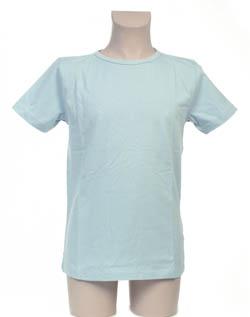 Super Sale T-Shirt 100% katoen Jongen KinderBasics - LICHTBLAUW