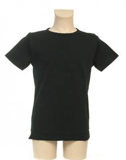 Super Sale T-Shirt 100% katoen Jongen KinderBasics - ZWART