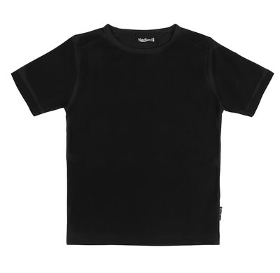 Shirt Jongen KinderBasics - ZWART