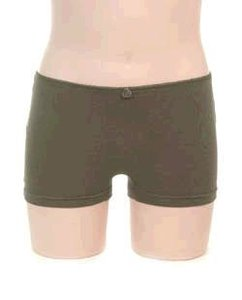 Boxershort meisje KinderBasics - Legergroen