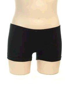 Boxershort meisje KinderBasics - ZWART