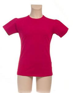 T-Shirt Meisje KinderBasics - FUCHSIA