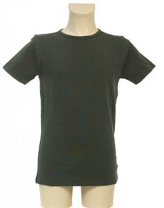 Super Sale T-Shirt 100% katoen Jongen KinderBasics - ANTRACIET GRIJS