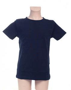 Super Sale T-Shirt 100% katoen Jongen KinderBasics - DONKER BLAUW NAVY