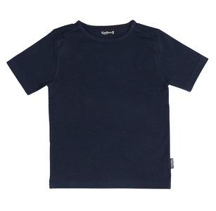 Shirt Jongen KinderBasics - DONKER BLAUW NAVY